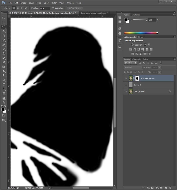 Improved Layer Mask